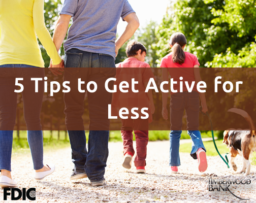Get active without breaking your budget this spring.