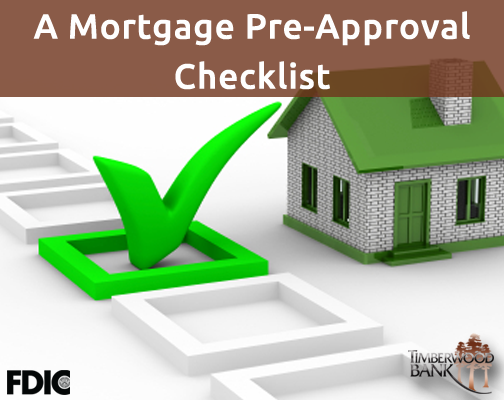 Getting pre-approved for your mortgage is vital, so make sure you have the right paperwork.