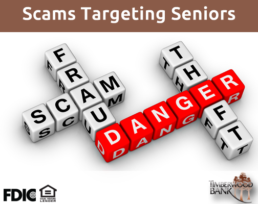 Senior citizens are often made victim to these forms of financial fraud.