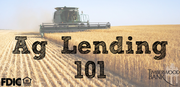 Post harvest season is a great time to reevaluate your Ag lending needs.